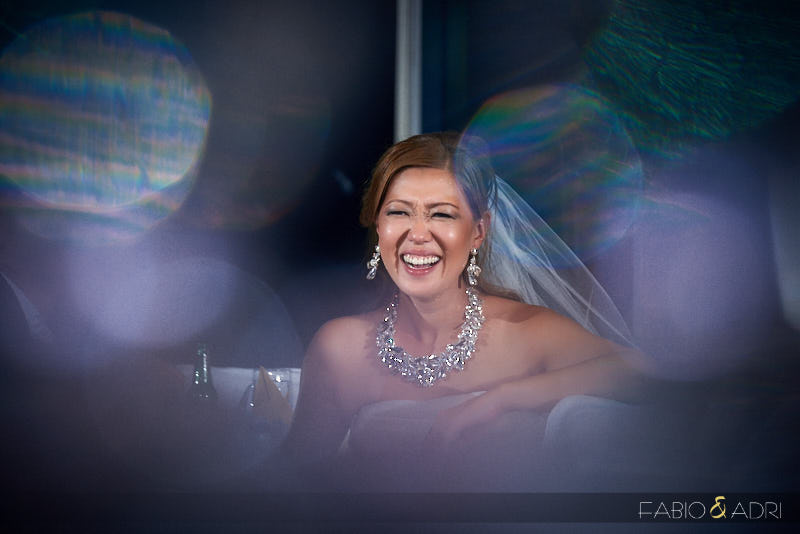 Bride Laughing Creative Photo
