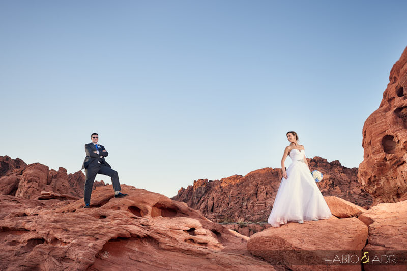 Seven Sisters Wedding Valley of Fire