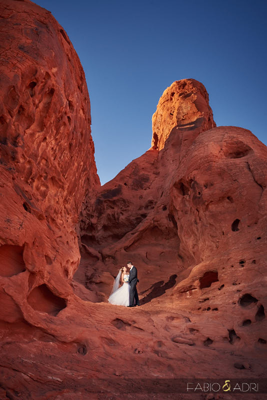 Seven Sisters Valley of Fire Wedding