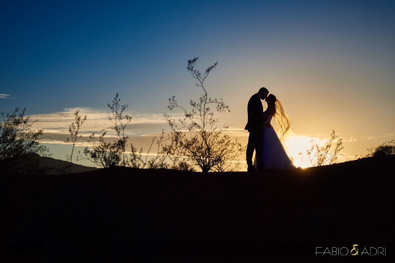 Silhouette Sunset Photo