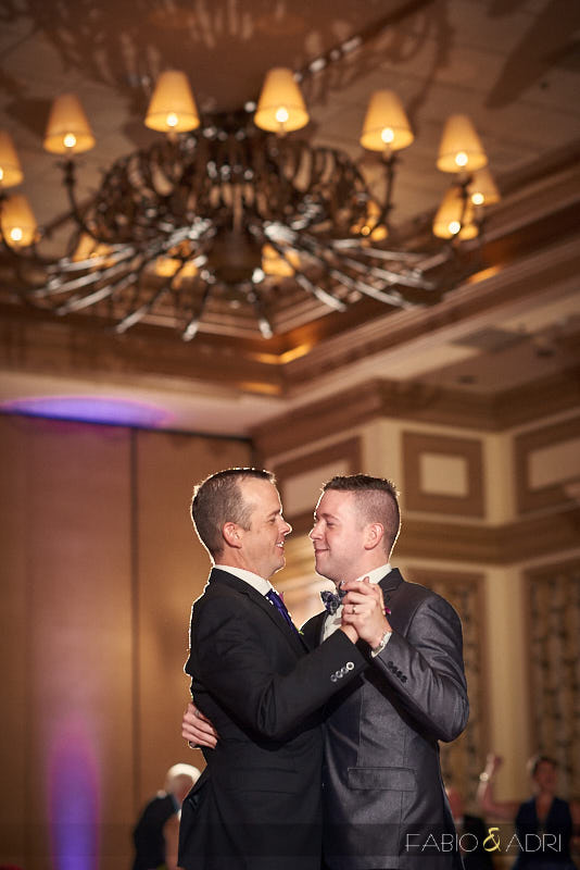 Bellagio Las Vegas Wedding Reception LGBT
