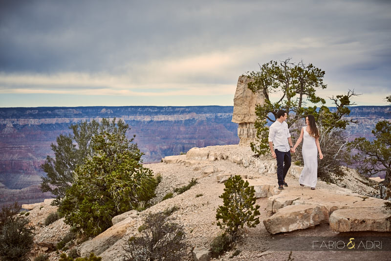 Grand Canyon South Rim Engagement