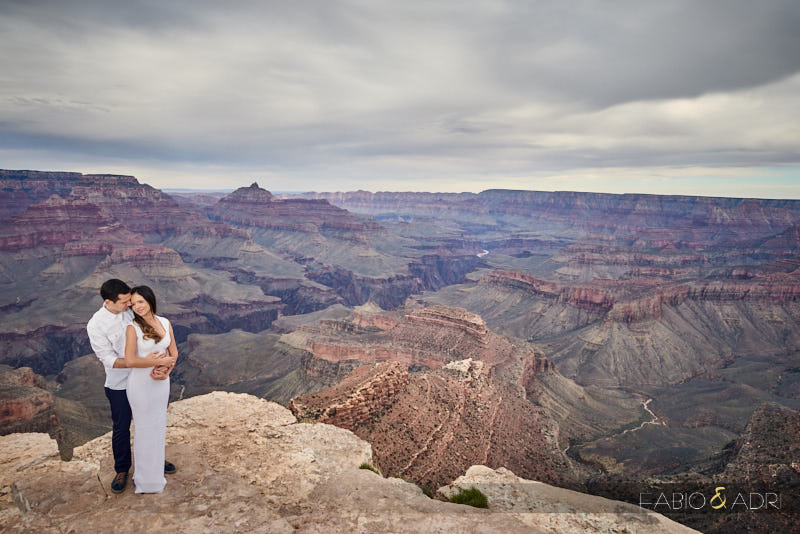 Grand Canyon Engagement Shoshone Point