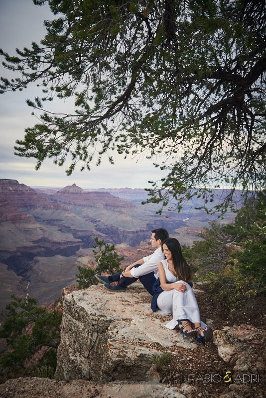 Grand Canyon Engagement Photos