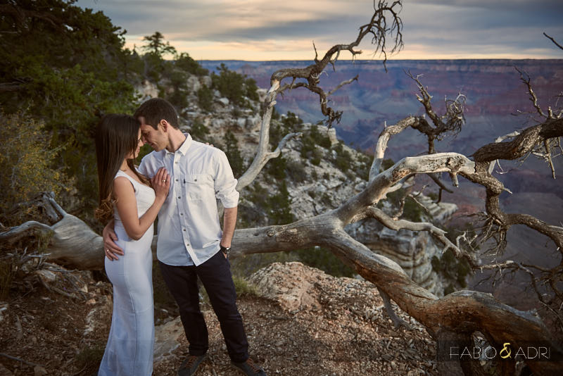 Engagement Edge of Grand Canyon