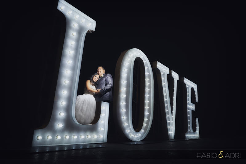 Las Vegas Wedding Love Sign Marquee
