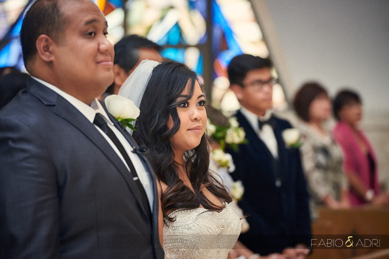 Guardian Angel Cathedral Wedding Ceremony Vegas