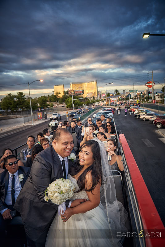 Double Decker Tour Wedding Las Vegas