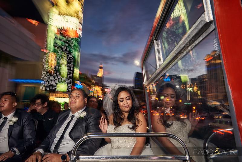 Double Decker Tour Wedding Las Vegas
