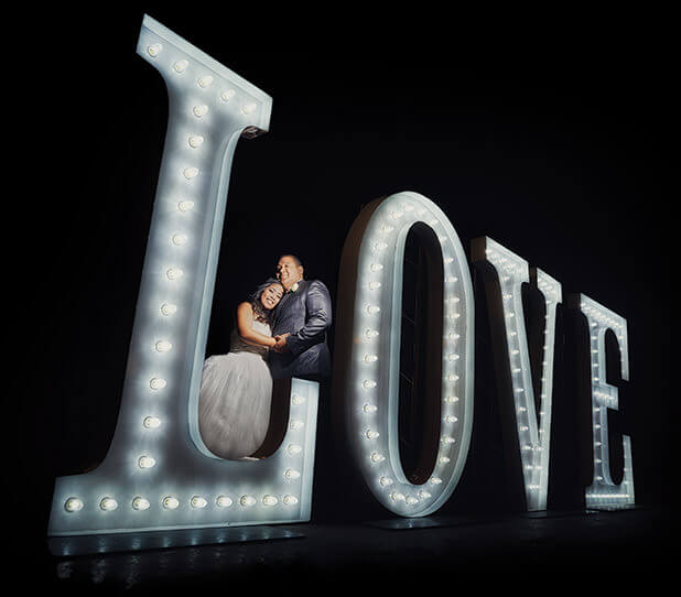 Las Vegas Wedding Love