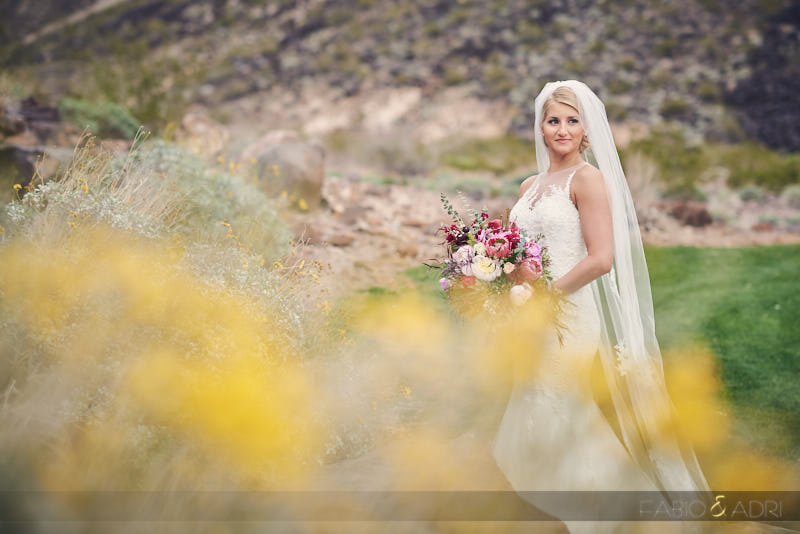 Bride at Dragon Ridge Country Club
