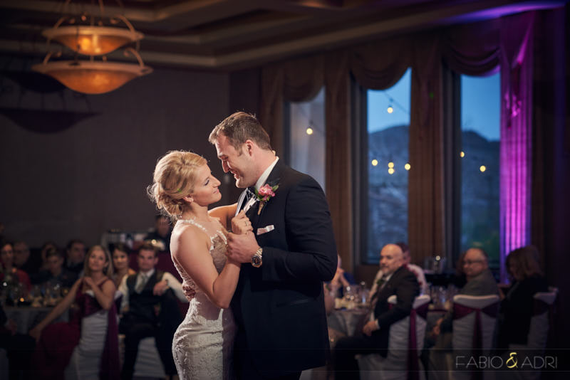 First Dance Dragon Ridge Reception