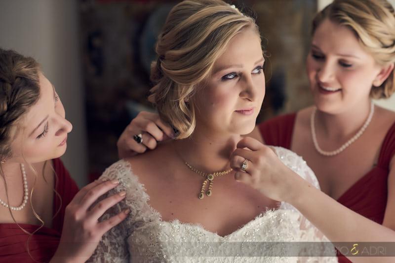 Bride Getting Ready South Lake Tahoe Wedding