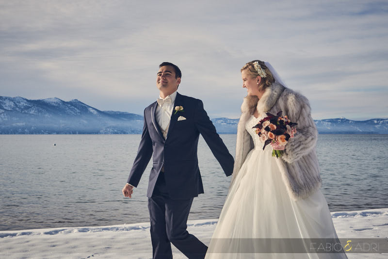 South Lake Tahoe Winter Wedding