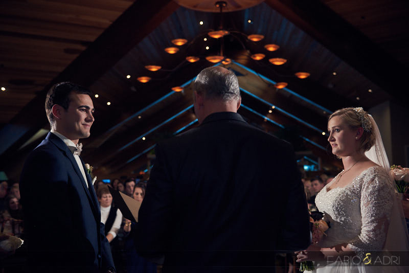 Edgewood South Tahoe Indoors Wedding Ceremony