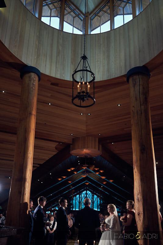 Edgewood Tahoe Indoors Wedding Ceremony