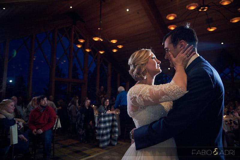 Wedding First Dance Edgewood South Lake Tahoe