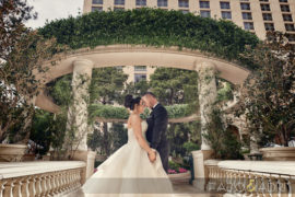 Bellagio Las Vegas Vibrant Wedding – Ingrid & Miron