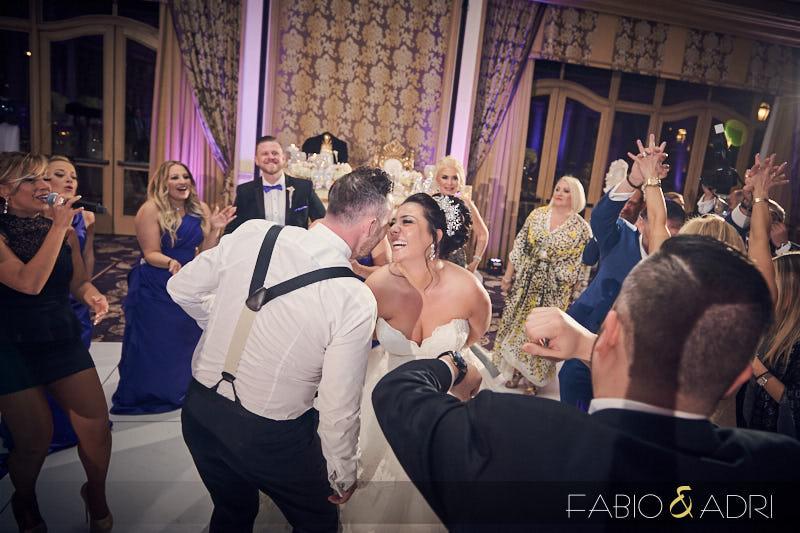 Bellagio Wedding Reception Dancing