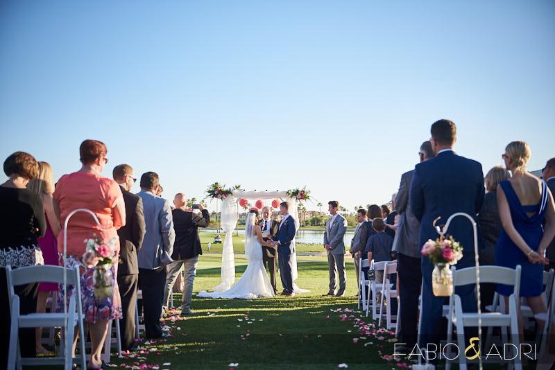 McCormick Ranch Wedding Ceremony