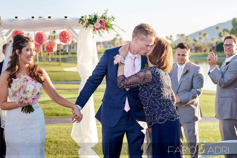 McCormick Ranch Wedding Ceremony Recessional