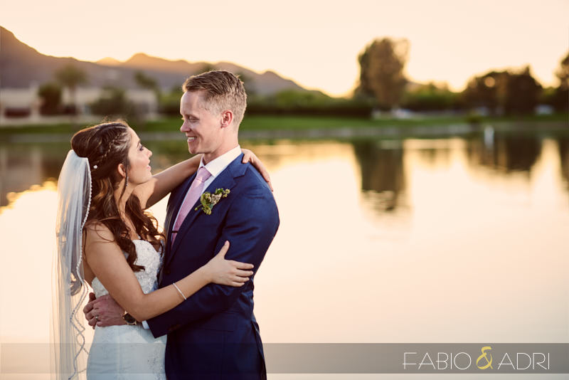 McCormick Ranch Wedding Sunset Photos