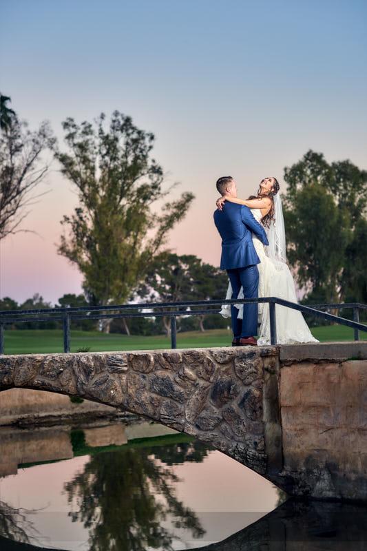 McCormick Ranch Golf Wedding Scottsdale Photographer