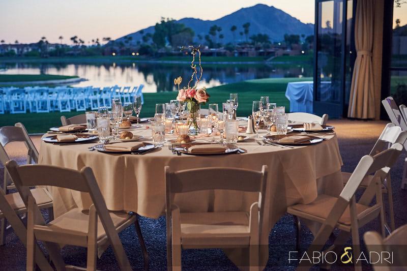 McCormick Ranch Golf Wedding Reception Scottsdale