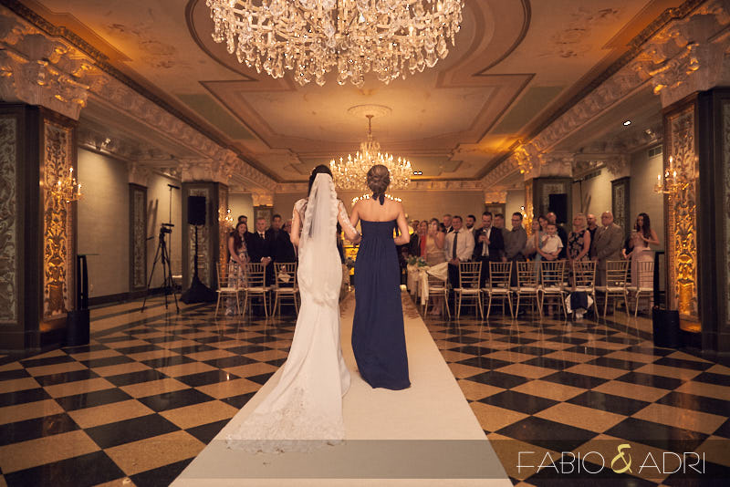 US Grant Opulent Crystal Ballroom Wedding