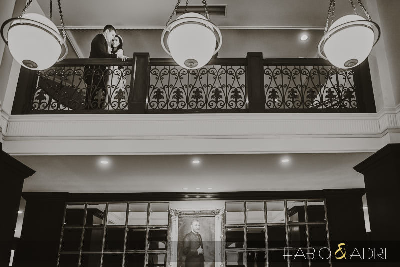 Historic Building Wedding San Diego Downtown