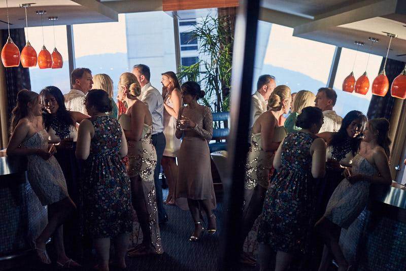 Palms Sky Villa Wedding Reception