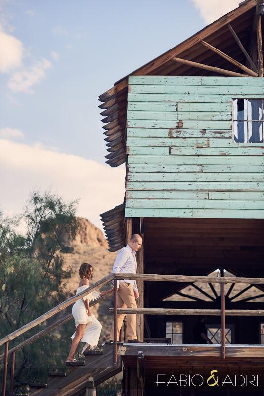 Pre-wedding Photos Las Vegas Desert
