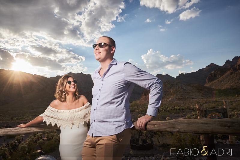 Desert Pre-wedding Las Vegas