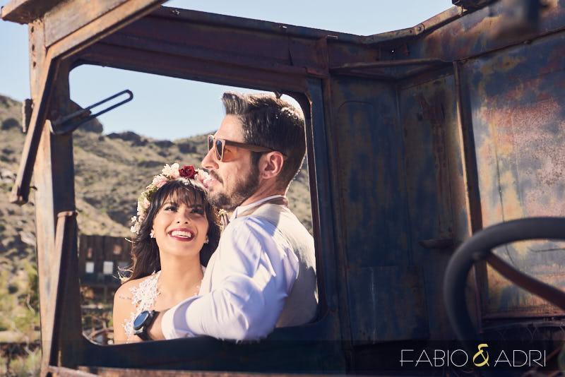 Las Vegas desert Wedding Photo Session
