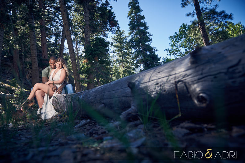 Mountain Engagement Session Las Vegas