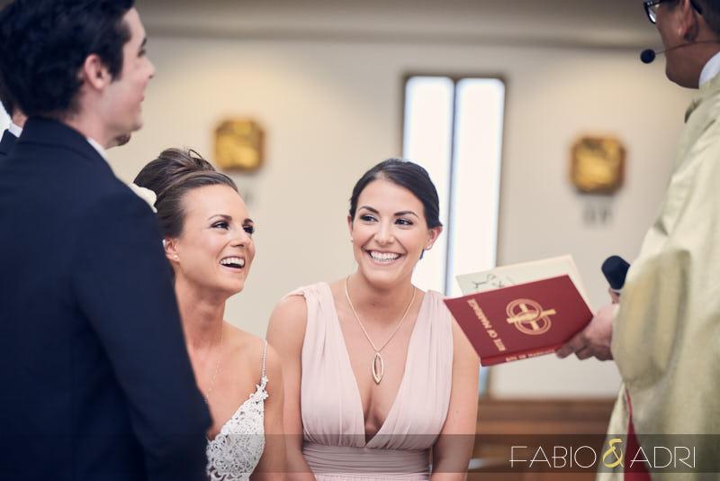 Wedding Ceremony at St Peter The Apostle Catholic Church Henderson