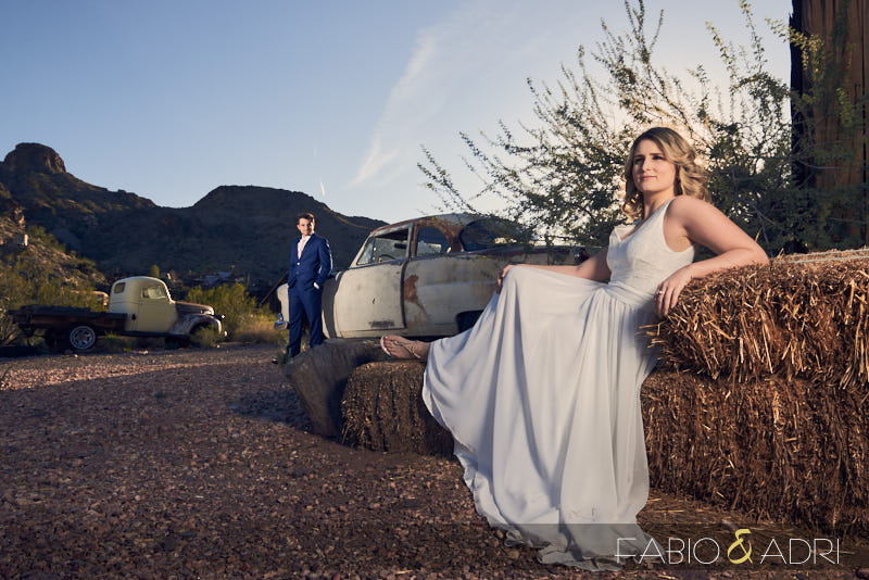 Engagement Session Nelson Ghost Town