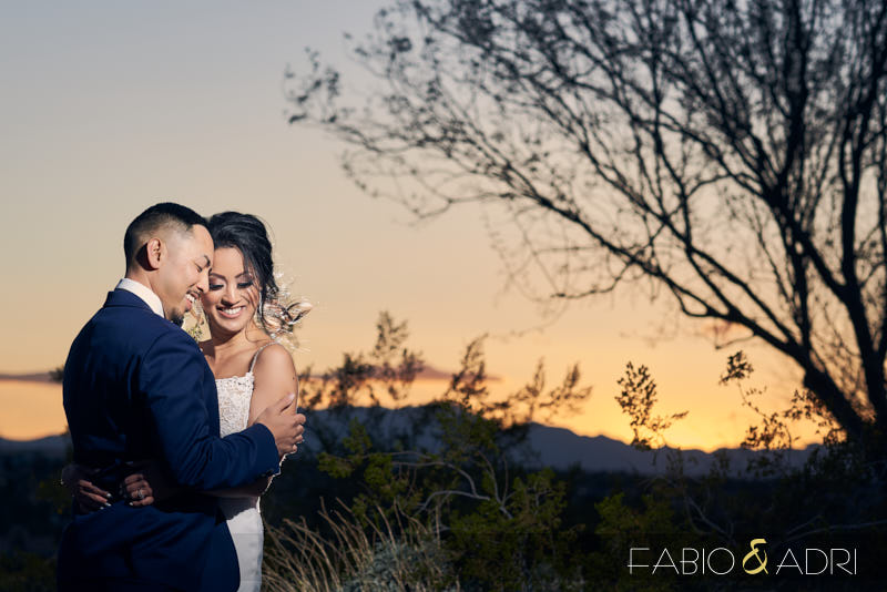Dragon Ridge Country Club Weding Photographers Sunset Photos