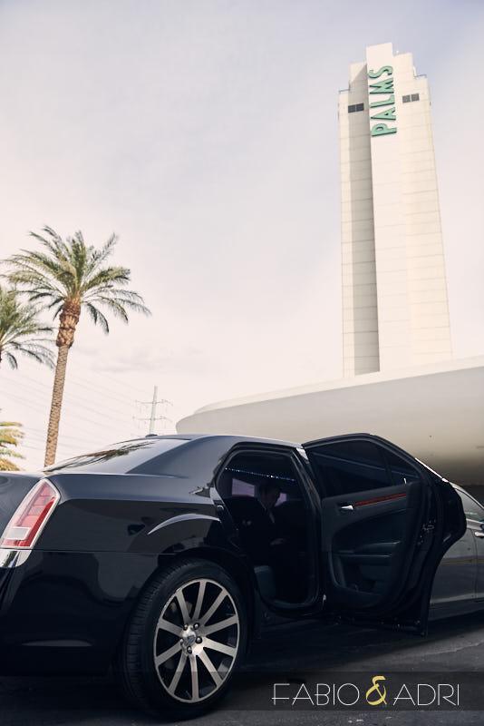 Limousine at Palms Las Vegas