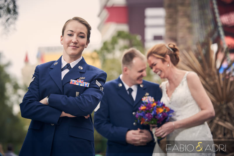 Las Vegas Strip Wedding Photos