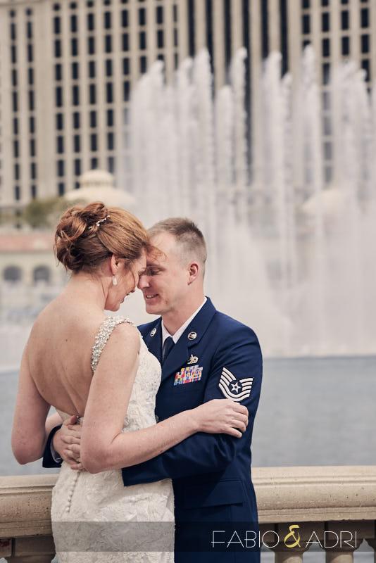Wedding Photos Bellagio Fountains