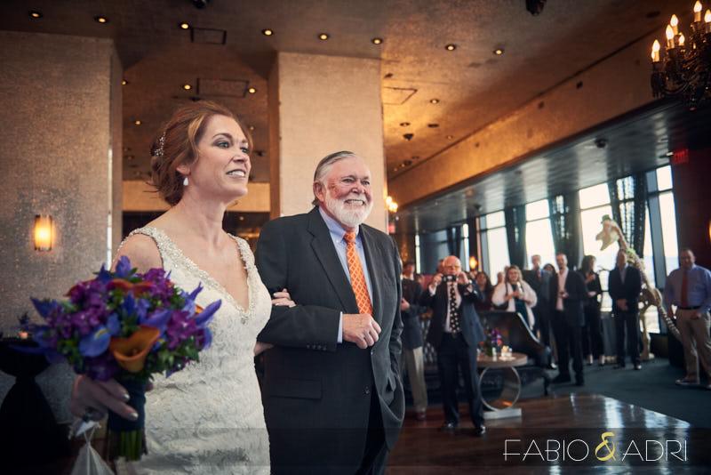 Offbeat Las Vegas Wedding Ceremony at Palms