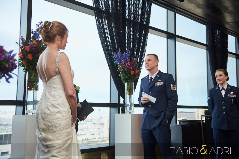 Las Vegas Wedding Ceremony at Palms Casino Resort