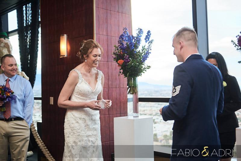 Las Vegas Wedding Ceremony at View at Palms
