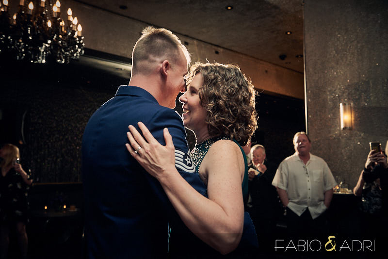 Mother and Son Dance Palms  Wedding