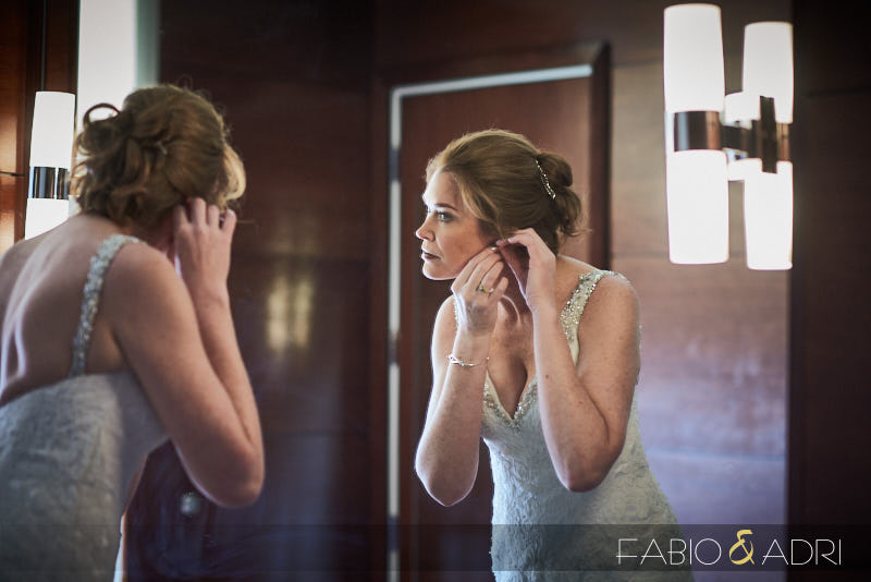 Bride Getting Ready at Palms Las Vegas
