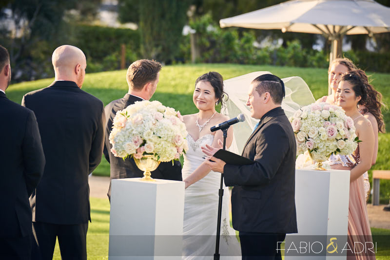 Wedding Ceremony at Green Valley Ranch Amphitheater