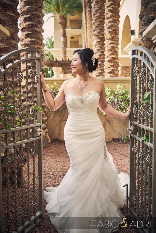Bride at Green Valley Ranch Wedding Las Vegas