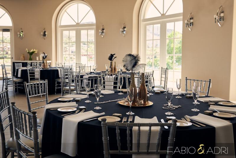 Great Gatsby DIY Wedding Reception