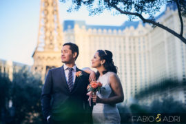 Paris Las Vegas Wedding Session – Dyenny & Rodrigo